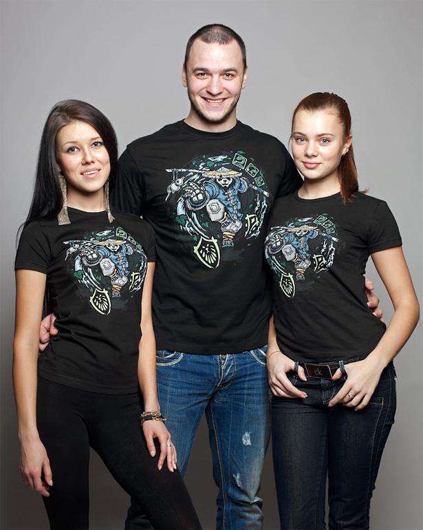 Делаем футболки с надписями хабаровск